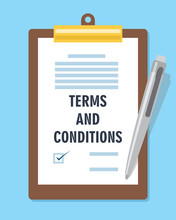 Terms And Condition Agreement ...
