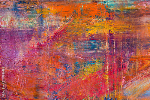 Zdjęcie XXL Malować Artystycznego jaskrawego koloru nafcianych farb tekstury abstrakcjonistyczną grafikę. Nowożytny futurystyczny wzór dla grunge tapety, wnętrze, album, okładki ulotki, plakat, broszury tło. Kreatywny projekt graficzny