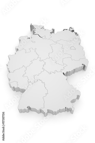 Photo  Deutschland Bundesländer 3D
