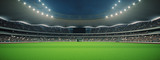 Fototapeta Sport - stadium with fans the night before the match. 3d rendering