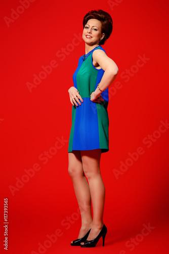 elegant mature woman Fototapet
