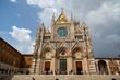 Altstadt von Siena, Vogelperspektive,Toskana, Italien,