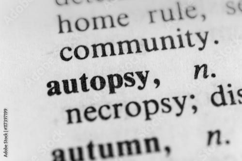 Autopsy Canvas Print