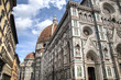 The world famous cathedral and Duomo (dome) of Florence in Italy