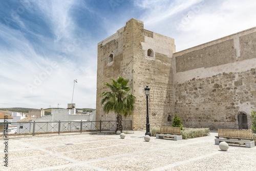 Fotomural ancient castle in Castro del Río city, Córdoba, Spain