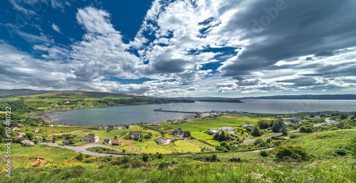Fotografie, Obraz  Panoramic View of the Trotternish, the Northernmost Peninsula of the Isle of Sky