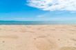 Empty sea and beach background