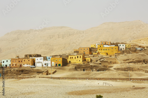 Canvas Prints Artistic monument Sheikh Abd el-Qurna Thebes Egypt