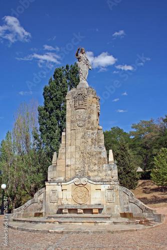 Foto op Aluminium Monument Monumento al Sagrado Corazón de Jesús, Soria (España)