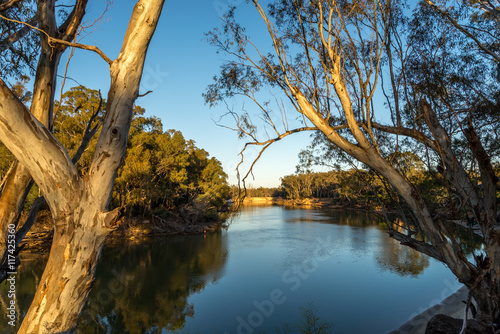 On the Murray River early morning
