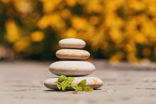 Balancing Pebble Zen Stones Ou...