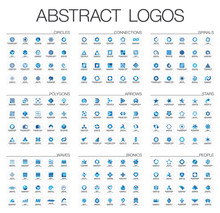 Abstract Logo Set For Business...