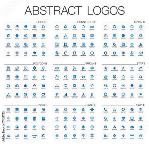 Fotografía  Abstract logo set for business company