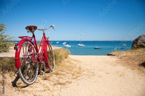Deurstickers Strand Plage Bretonne en été