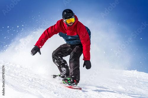 sport invernale Tableau sur Toile