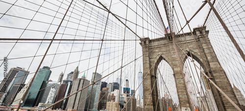 Foto op Aluminium New York Brooklyn Bridge in New York