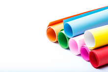 Rolls Of Color Paper-2