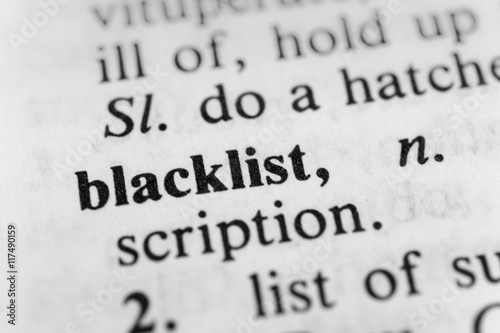 Photo Blacklist