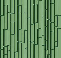 Bamboo brick 3 D background abstract