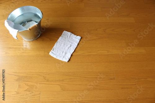 Valokuva  バケツと雑巾