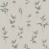 Bezszwowa tapeta wzór liści bambusa. - 117502137