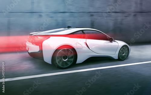 Obrazy na płótnie Canvas Futuristisches Auto