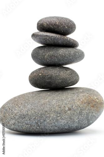 Spa stones. Obraz na płótnie