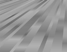 Metallic Gradation Striped Pattern Background, Abstract Vector Illustration