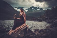 Nordic Goddess In Ritual Garme...