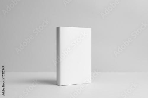 Fotografie, Obraz  Hardcover Book Mock-Up - Dust Jacket. Wall Background