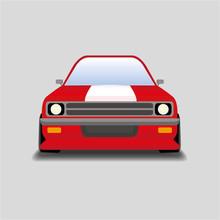Muscle Car Racing, автомобиль