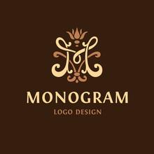Monogram Logo. The Letter M