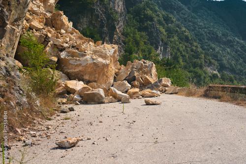 landslide Fototapet