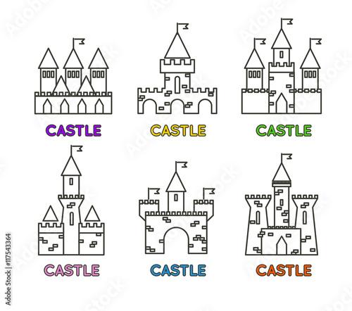 500_F_117543364_Cc9lI2O9hOdEn6PAPUXBiWKCLSUHwjTy castle vector set castle tower vector logo castle turret with