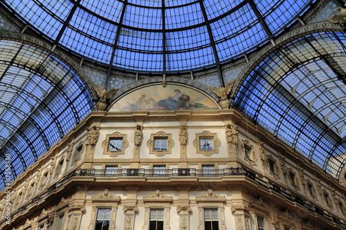Cadres-photo bureau Milan Shopping art gallery in Milan. Galleria Vittorio Emanuele II