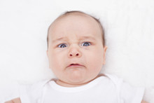 Disgusted Or Angry Baby