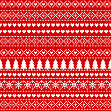 Seamless Christmas Background,...