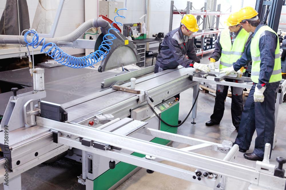 Fototapeta CNC machine shop