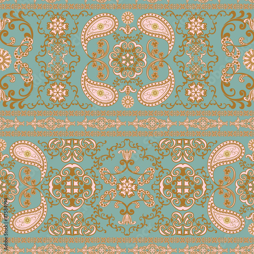 the-pattern-of-flowers-and-paisley-in-indian-style