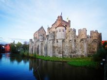 Old Gravensteen Castle, Ghent