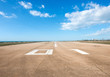 canvas print picture - Runway, airstrip, aviation