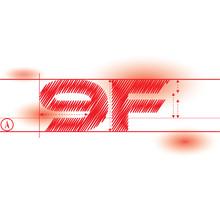 9f Redprint Font