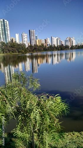 Deurstickers Buenos Aires Lago Igapó Londrina