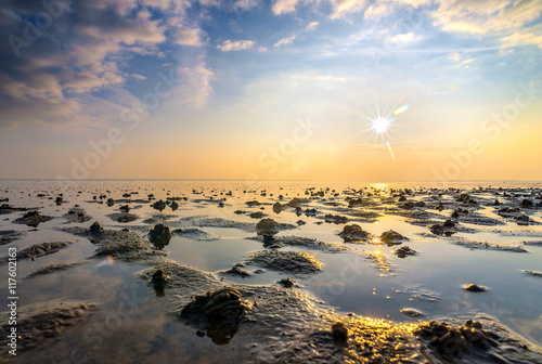 Canvas Prints North Sea Lichtstimmung an der Nordsee