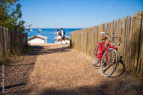 Fotografía  Vélo sur la côte de Noirmoutier