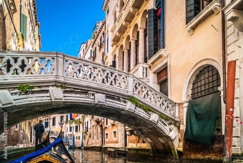 Poster  Venice canal gondola ride