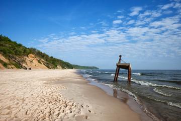 Baltic Sea Beach and Coast in Poland