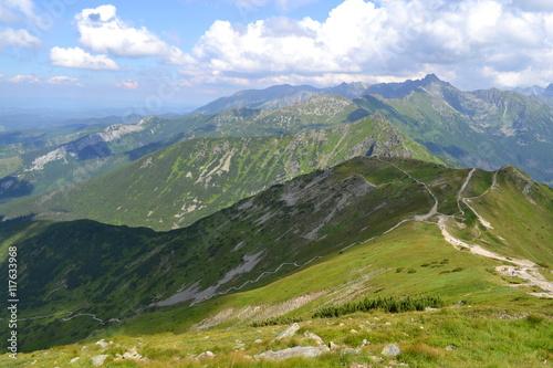 Foto auf Gartenposter Gebirge Góry Tatry