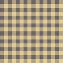 Black Brown  Color Seamless Gingham Pattern