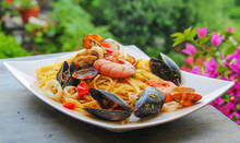 Pasta With Seafood - La Spezia, Italy